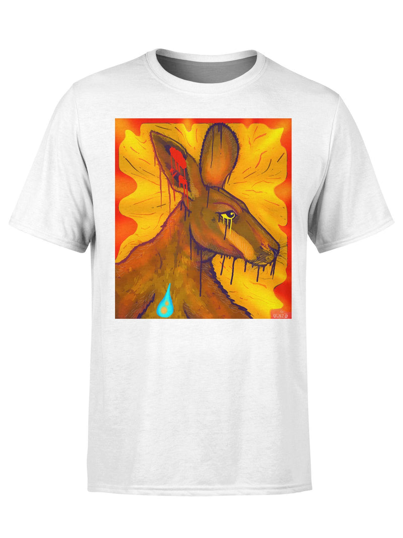 Limited Edition: Power To The Roos Unisex Crew T-Shirts Electro Threads