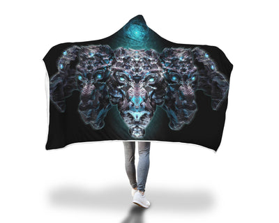 Lion Sync Hooded Blanket Hooded Blanket Electro Threads
