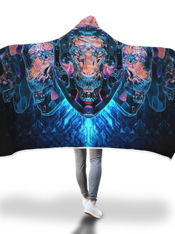 Lionizer Hooded Blanket Hooded Blanket Electro Threads