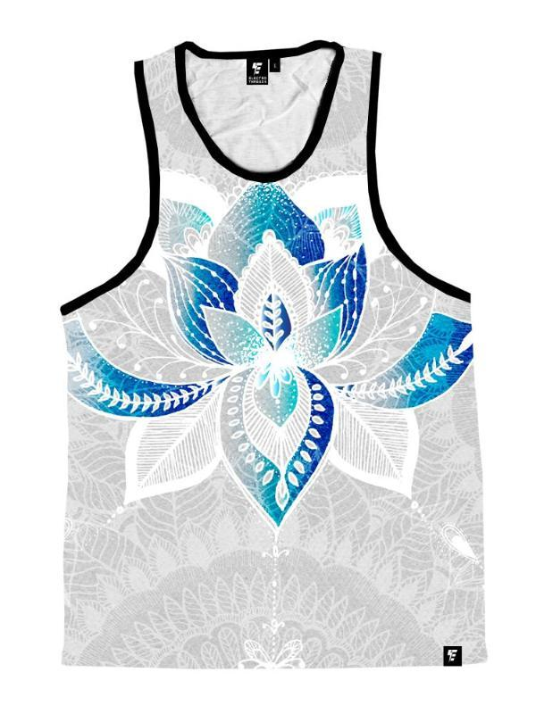 Lotus Rebirth Unisex Tank Top Tank Tops T6