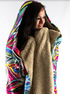 Lunar Lion Hooded Blanket Hooded Blanket Electro Threads