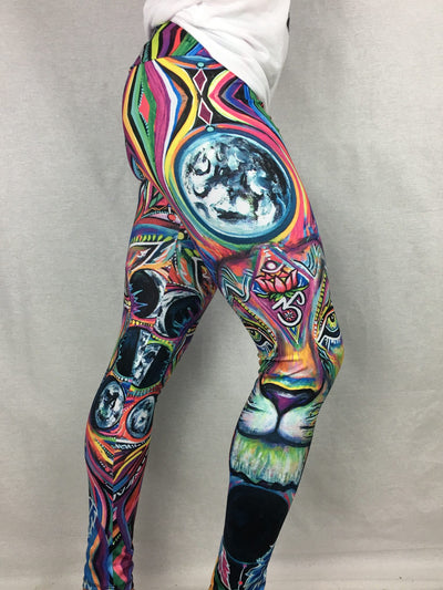 Lunar Lion Leggings Leggings T6