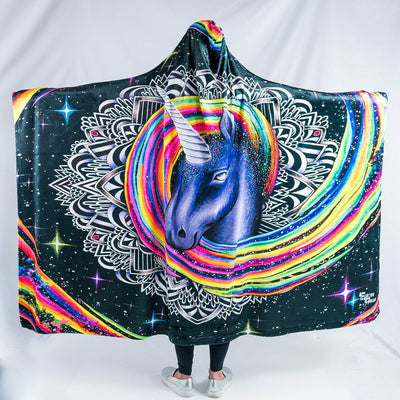 Majestic AF Hooded Blanket Hooded Blanket Electro Threads