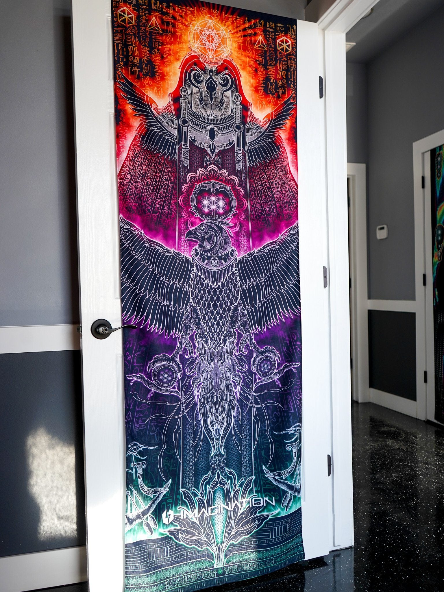 Majesty Door Wrap Door Cover Electro Threads