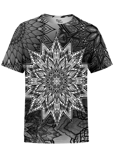 Mandala Bloom Unisex Crew T-Shirts T6