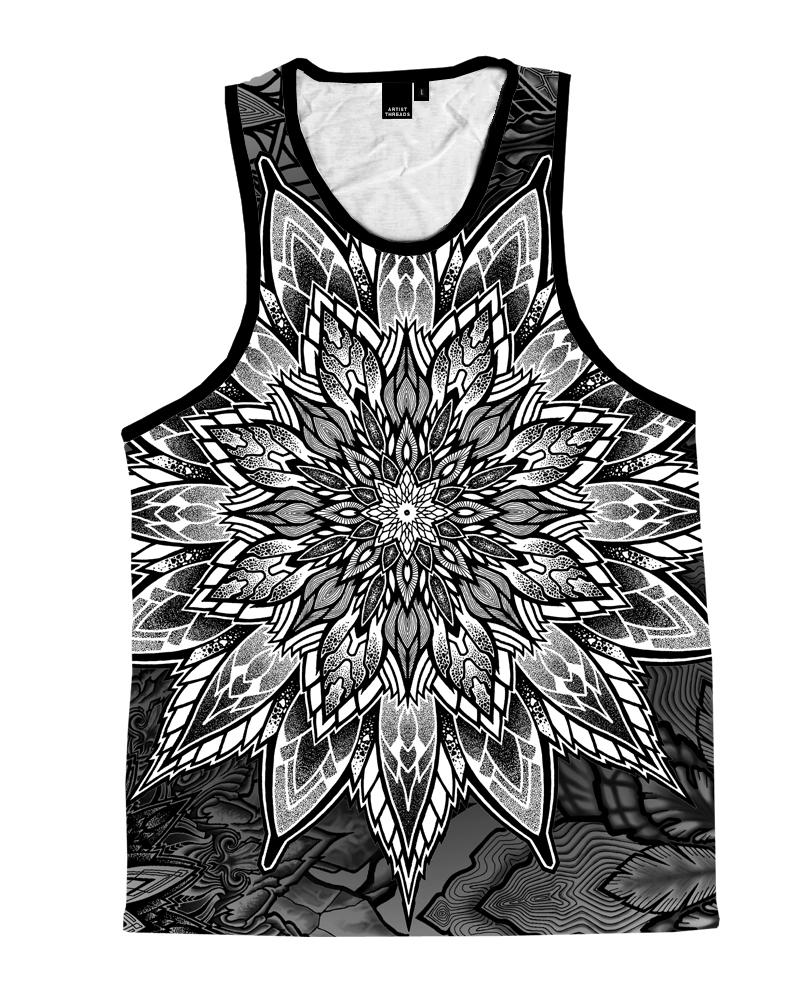 Mandala Bloom Unisex Tank Top Tank Tops T6