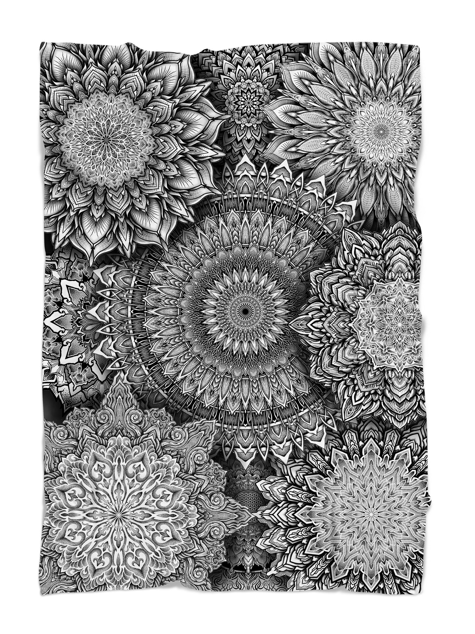 Mandala Bloom V2 Blanket Blanket Electro Threads