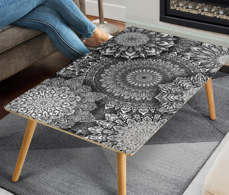 Mandala Bloom V2 Coffee Table Coffee Table Electro Threads