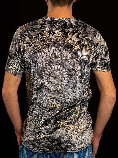 Mandala Bloom V2 Unisex Crew T-Shirts Electro Threads
