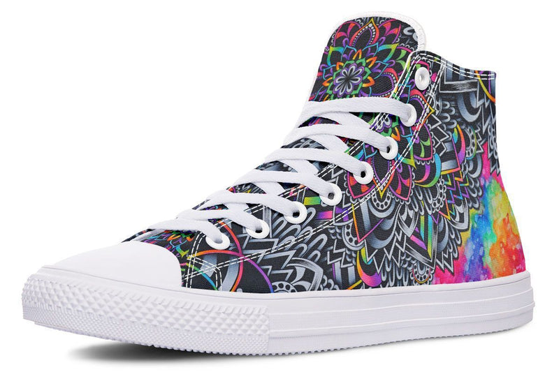 Mandala Vibes Hightop YWF