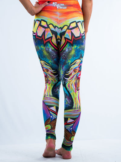 Meditating Rafiki Leggings Leggings T6