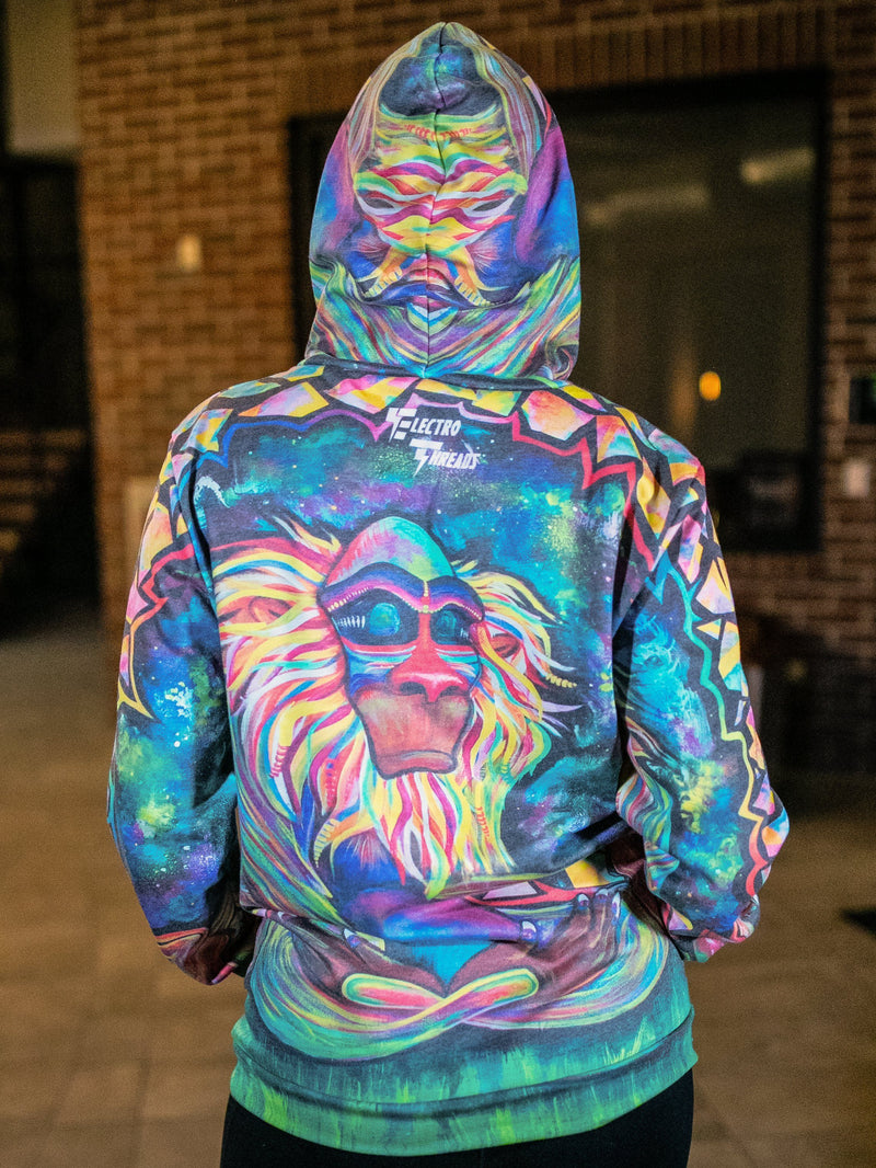Meditating Rafiki Magic-Soft Unisex Hoodie Pullover Hoodies T6
