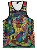 Meditating Rafiki Unisex Tank Top Tank Tops T6 XS Green