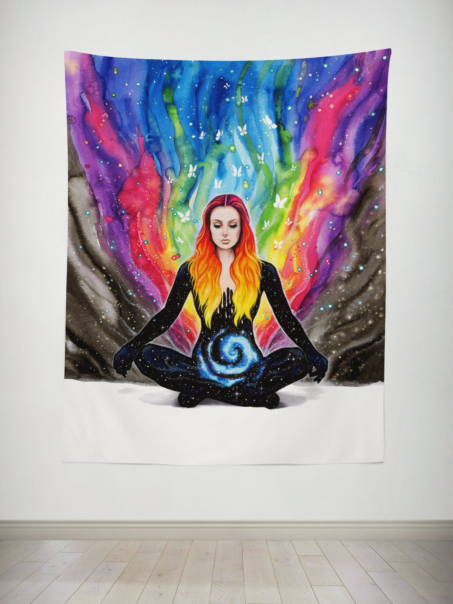 Meditation Tapestry Tapestry Electro Threads