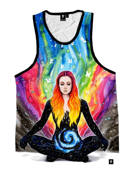 Meditation Unisex Tank Top Tank Tops T6