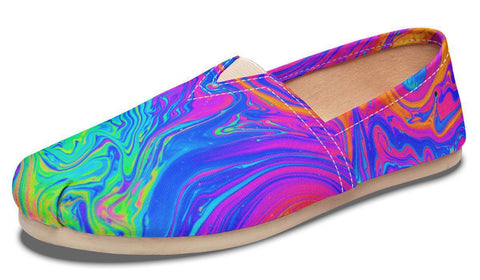 Melting Colors Casual Slip-on Shoes