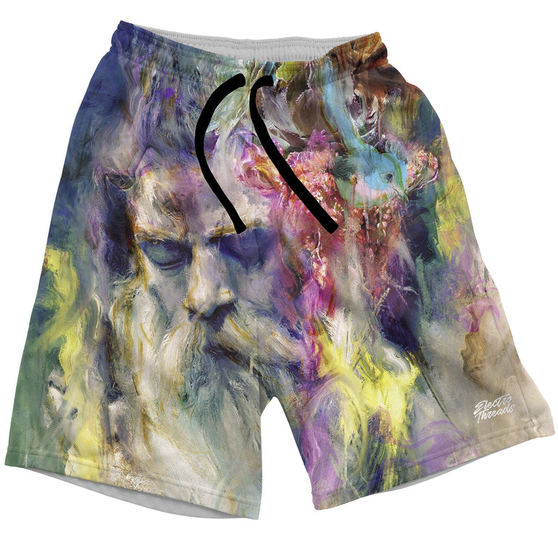 Merlins Meditation Swim Trunks Mens Swim Trunks T6