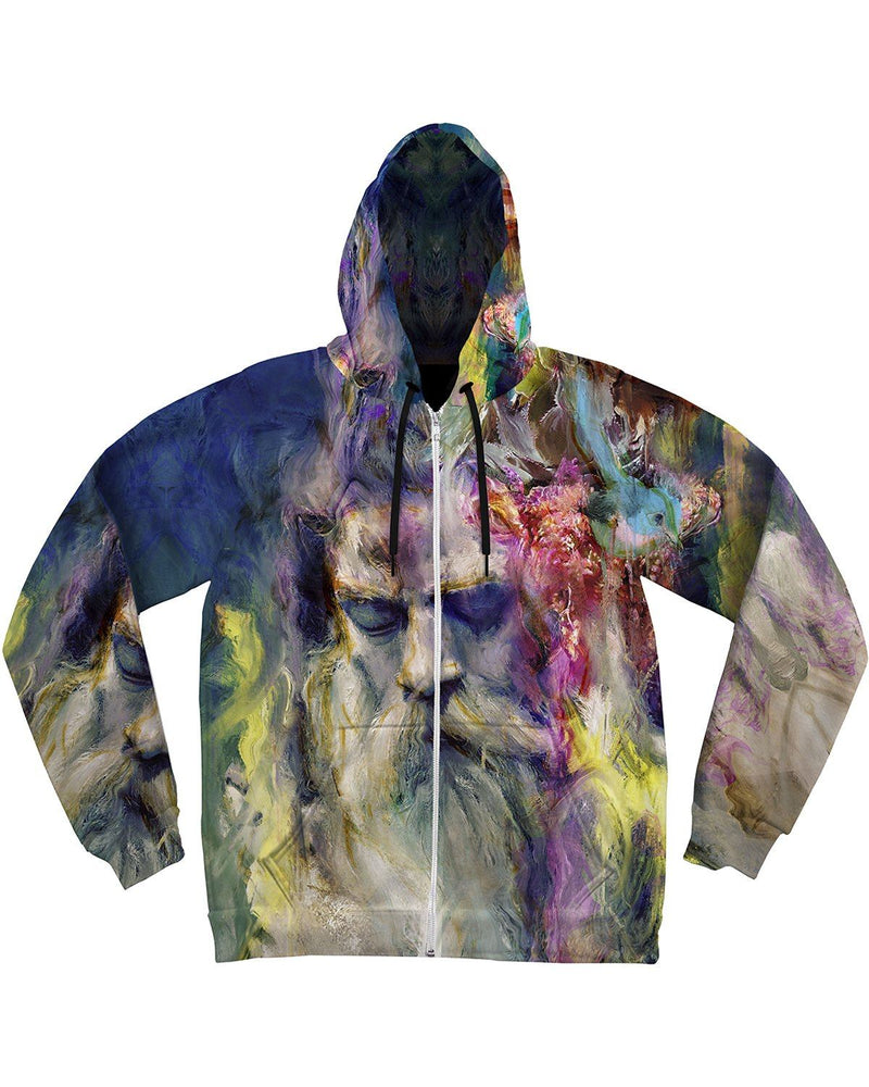 Merlins Meditation Unisex Hoodie Pullover Hoodies Electro Threads