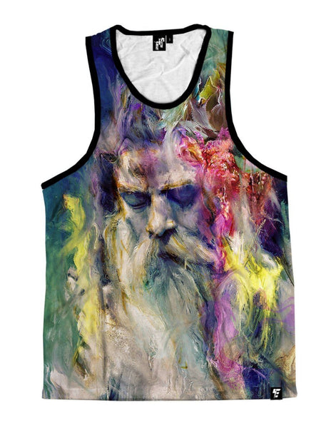 Merlins Meditation Unisex Tank Top Tank Tops T6