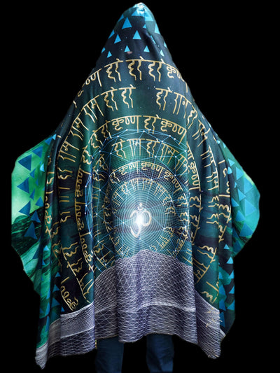 Midnight Bliss Hooded Blanket Hooded Blanket Electro Threads