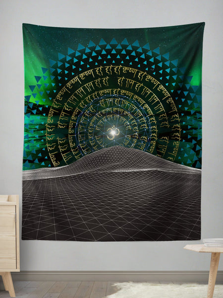 Midnight Bliss Wall Tapestry Tapestry Electro Threads