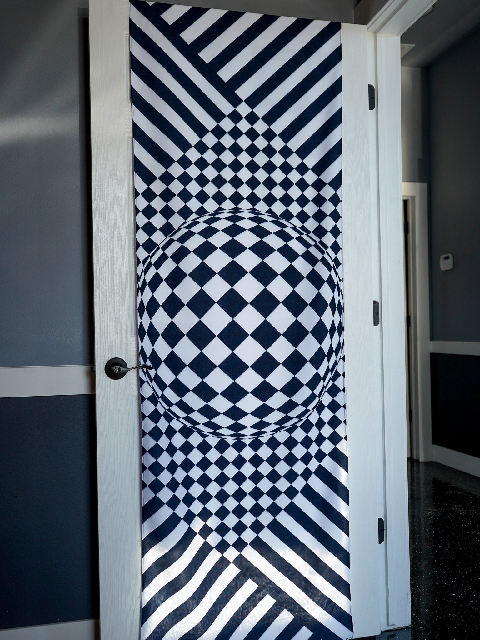 Mind Trip Door Wrap Door Cover Electro Threads