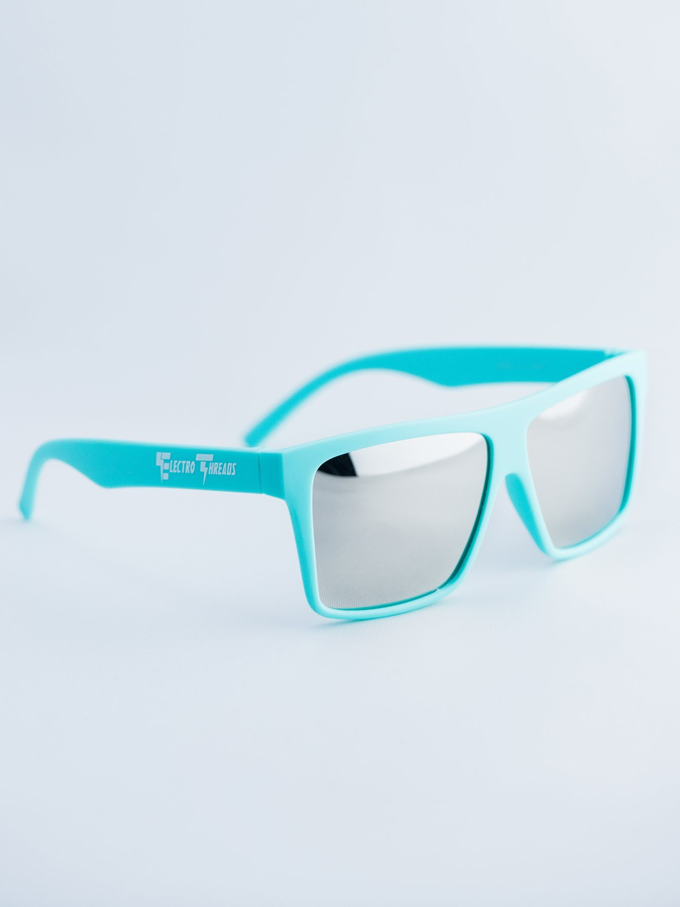 Mint – Polarized Chrome Lensed Sunglasses Glasses Electro Threads