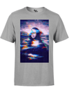 MONA GLITCH PREMIUM COTTON CREW Premium Supima Cotton Crew Tee T6 XS GREY HEATHER