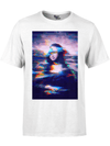 MONA GLITCH PREMIUM COTTON CREW Premium Supima Cotton Crew Tee T6 XS WHITE