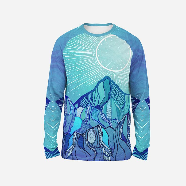 Mountain Mood Unisex Long Sleeve Shirt Long Sleeve T6