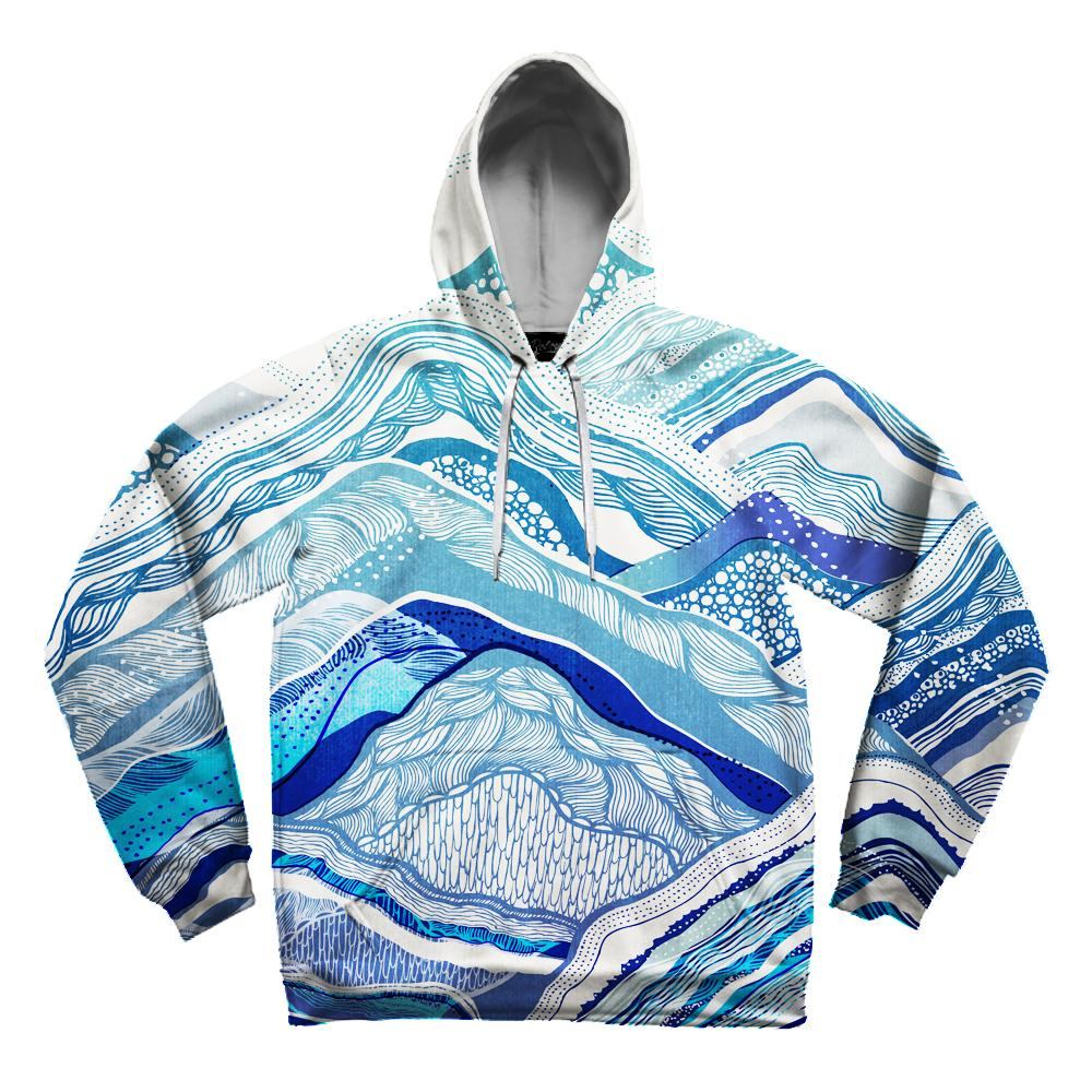 Mountain Vibes Unisex Hoodie Pullover Hoodies T6