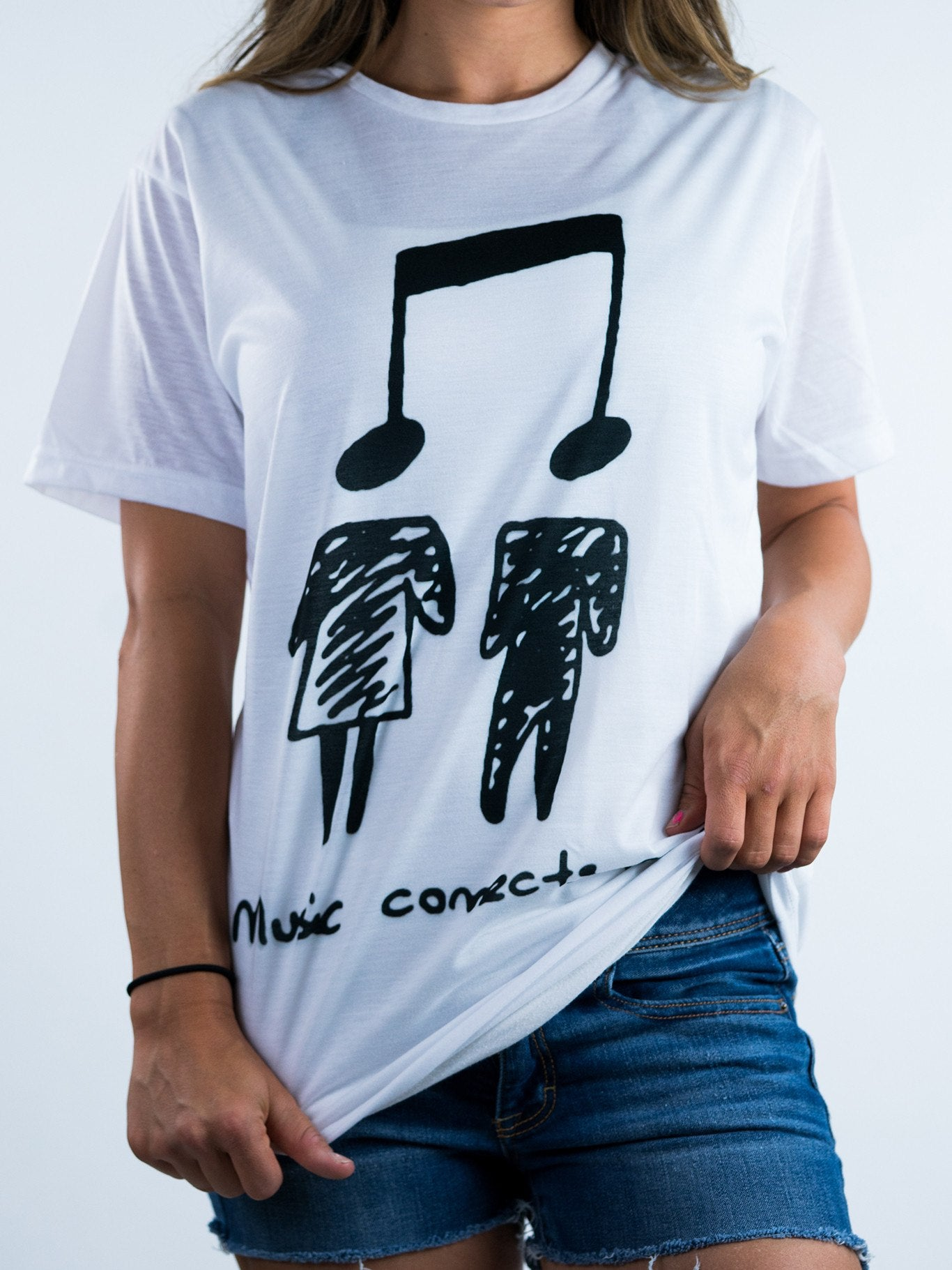 Music Connects People Unisex Crew T-Shirts Electro Threads