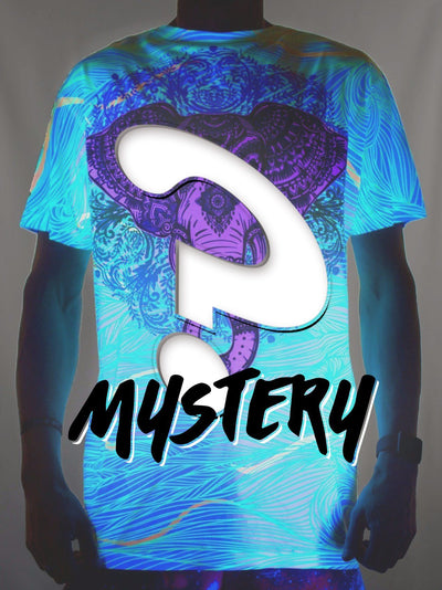 Mystery Unisex Neon Crew T-Shirts Electro Threads