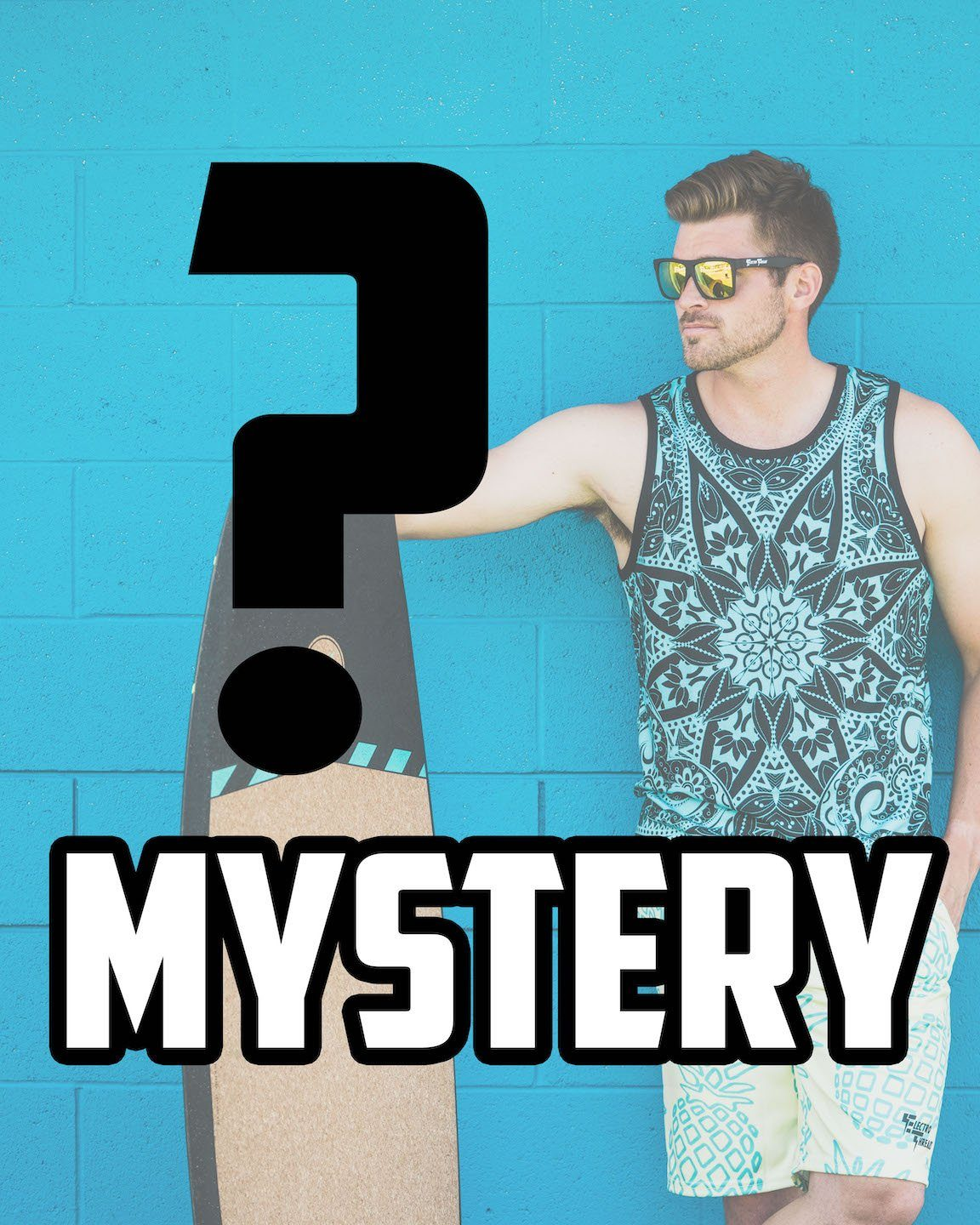 Mystery Unisex Tank Tank Tops Electro Threads