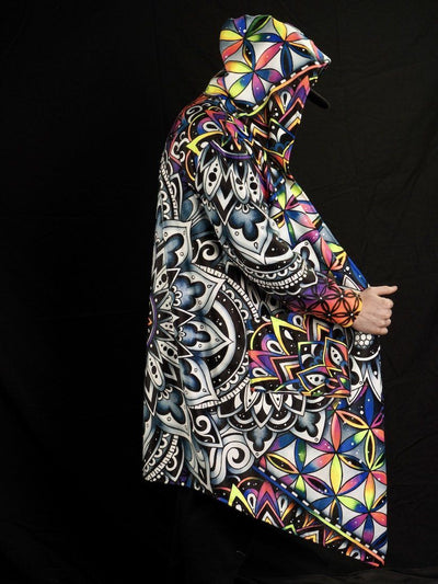 Neon Brizdala Reversible Dream Cloak Dream Coat Electro Threads