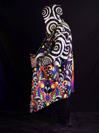 Neon Brizland Reversible Dream Cloak Dream Coat Electro Threads