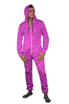 Neon Drippy (Pink) Onesie Onesie Electro Threads