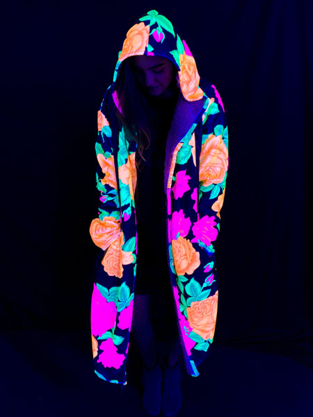 Neon Flowers Dream Cloak Dream Cloak Electro Threads