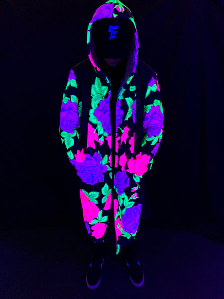 Neon Flowers v2 Dream Cloak Dream Cloak Electro Threads
