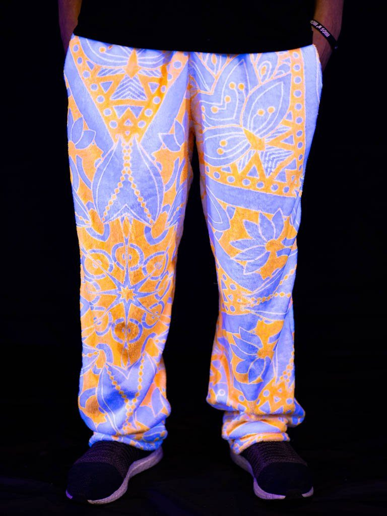 Neon Lotus Unisex Dream Jammies Jogger Pant Electro Threads