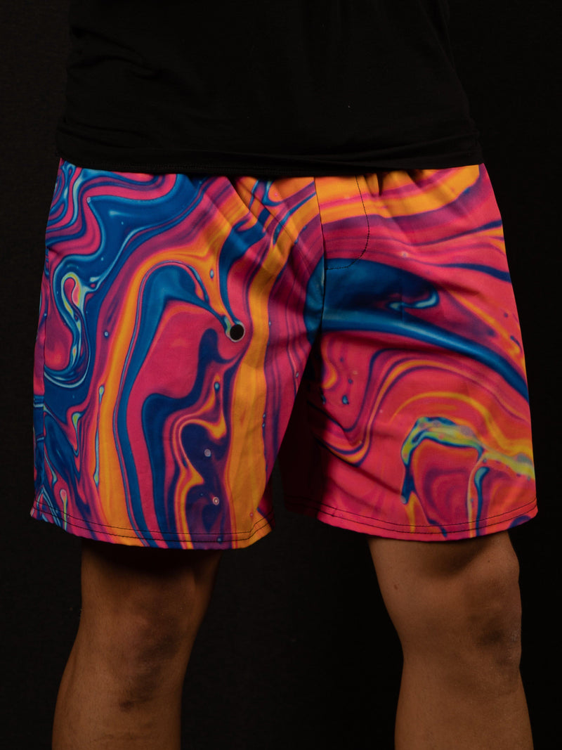 "Neon Nuclear 6"" Swim Trunks Mens Swim Trunks T6"