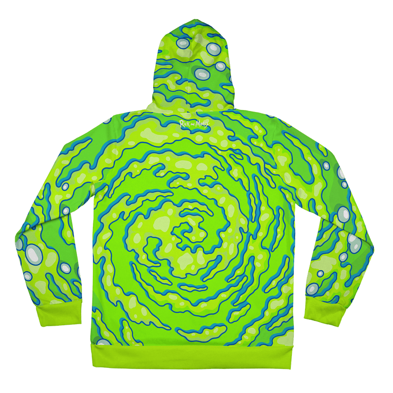 Neon Portal Hoodie Pullover Hoodies Electro Threads