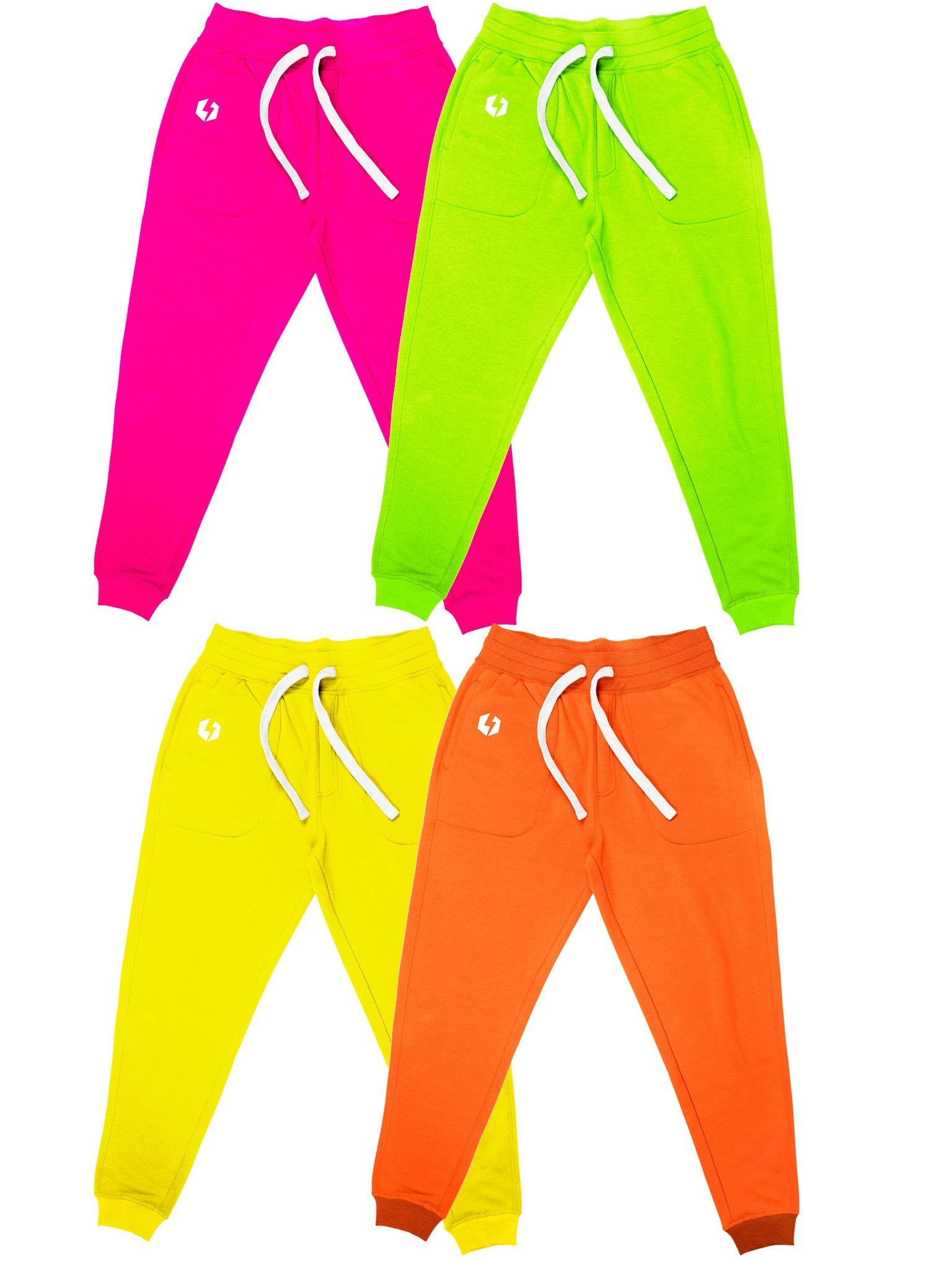 Neon Unisex Joggers Jogger Pant Electro Threads