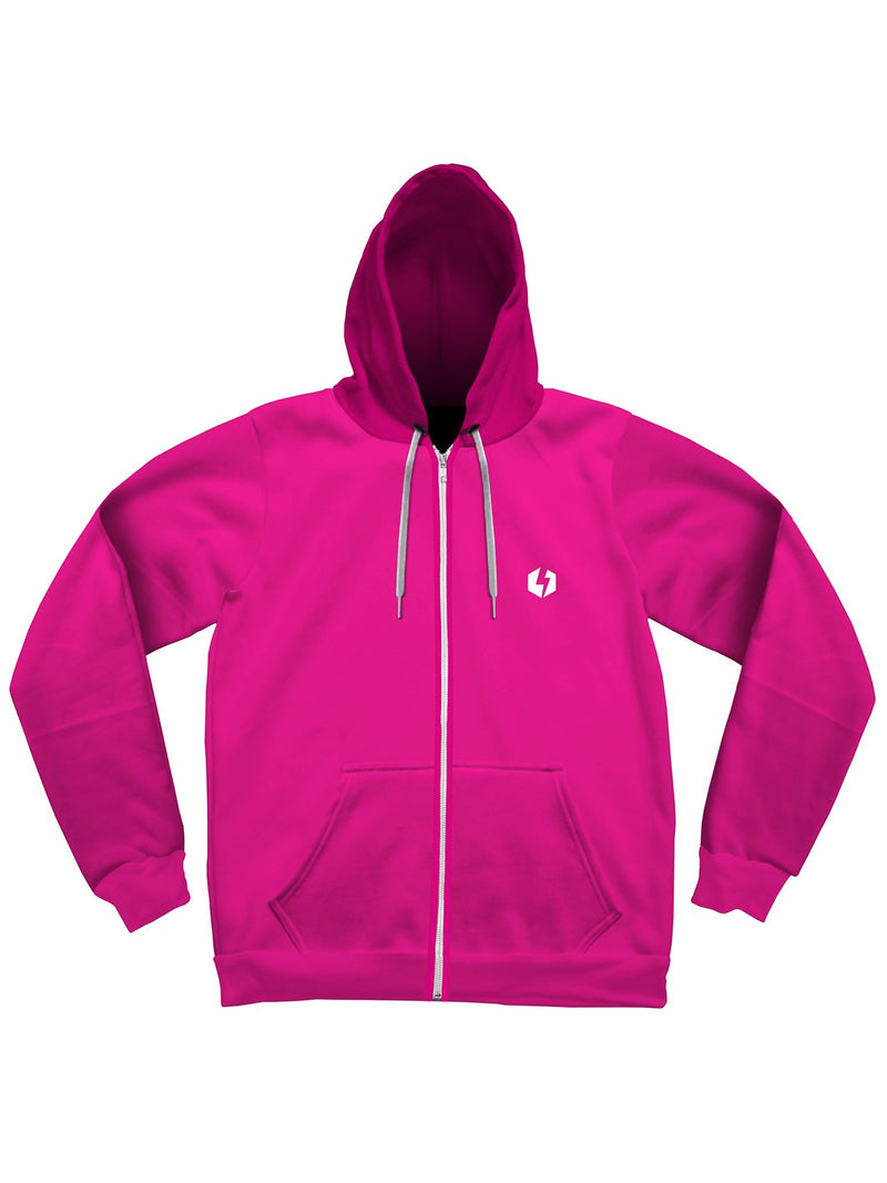 Neon Unisex Zip-Up Hoodies Zip-Up Hoodies Electro Threads