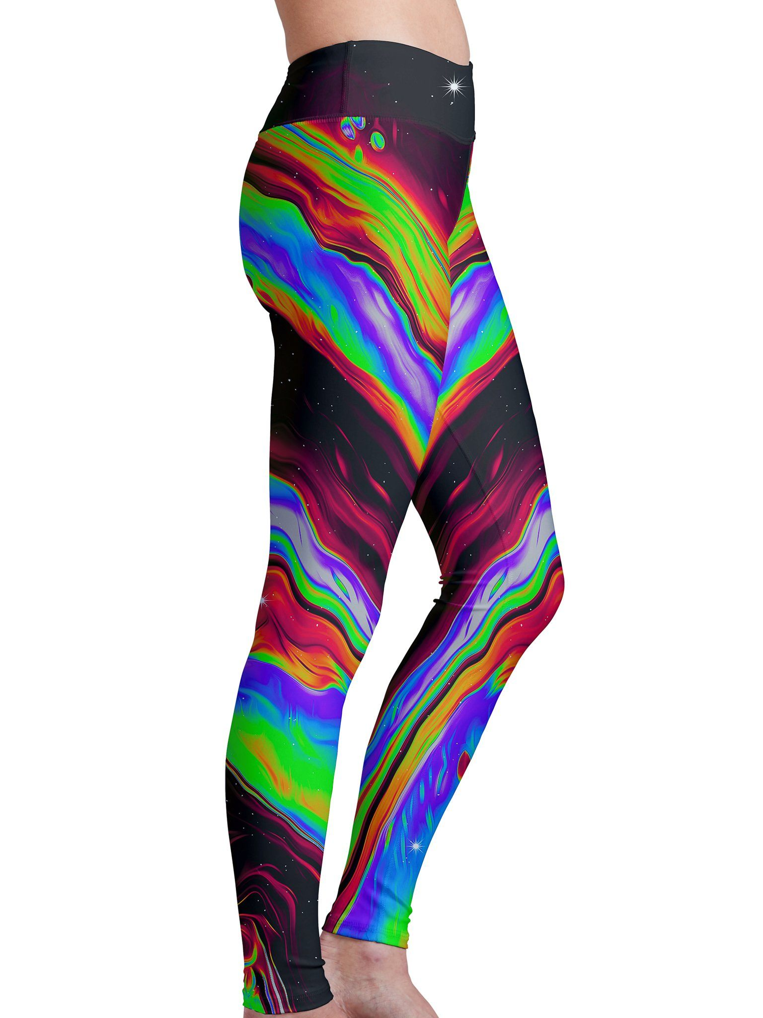 Neon Venus Fly Trap Leggings Leggings Electro Threads
