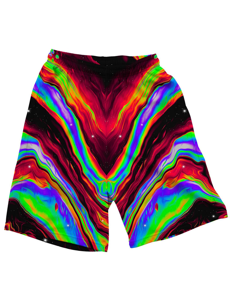 Neon Venus Fly Trap Shorts Mens Shorts Electro Threads