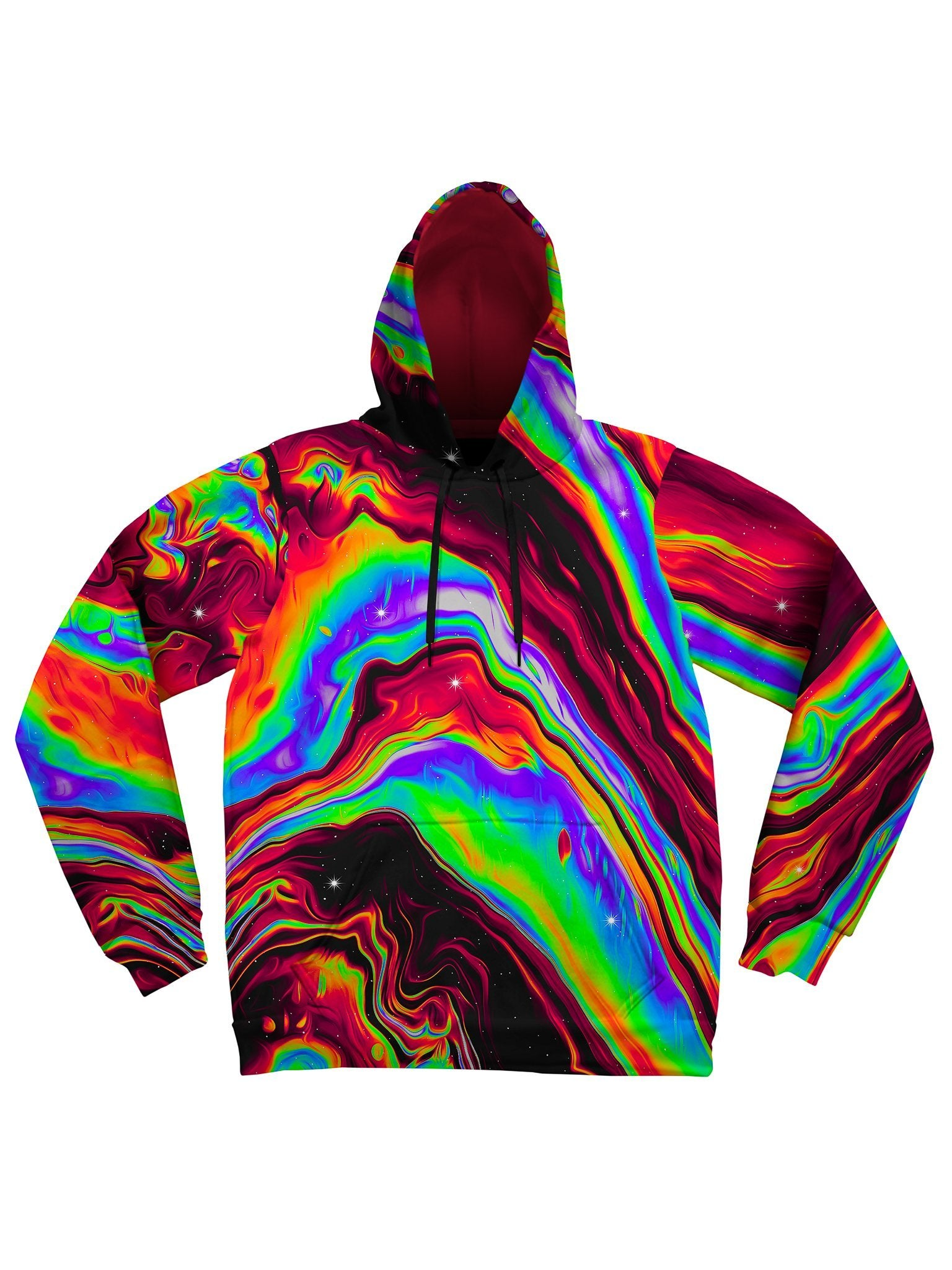 Neon Venus Fly Trap Unisex Hoodie Pullover Hoodies Electro Threads