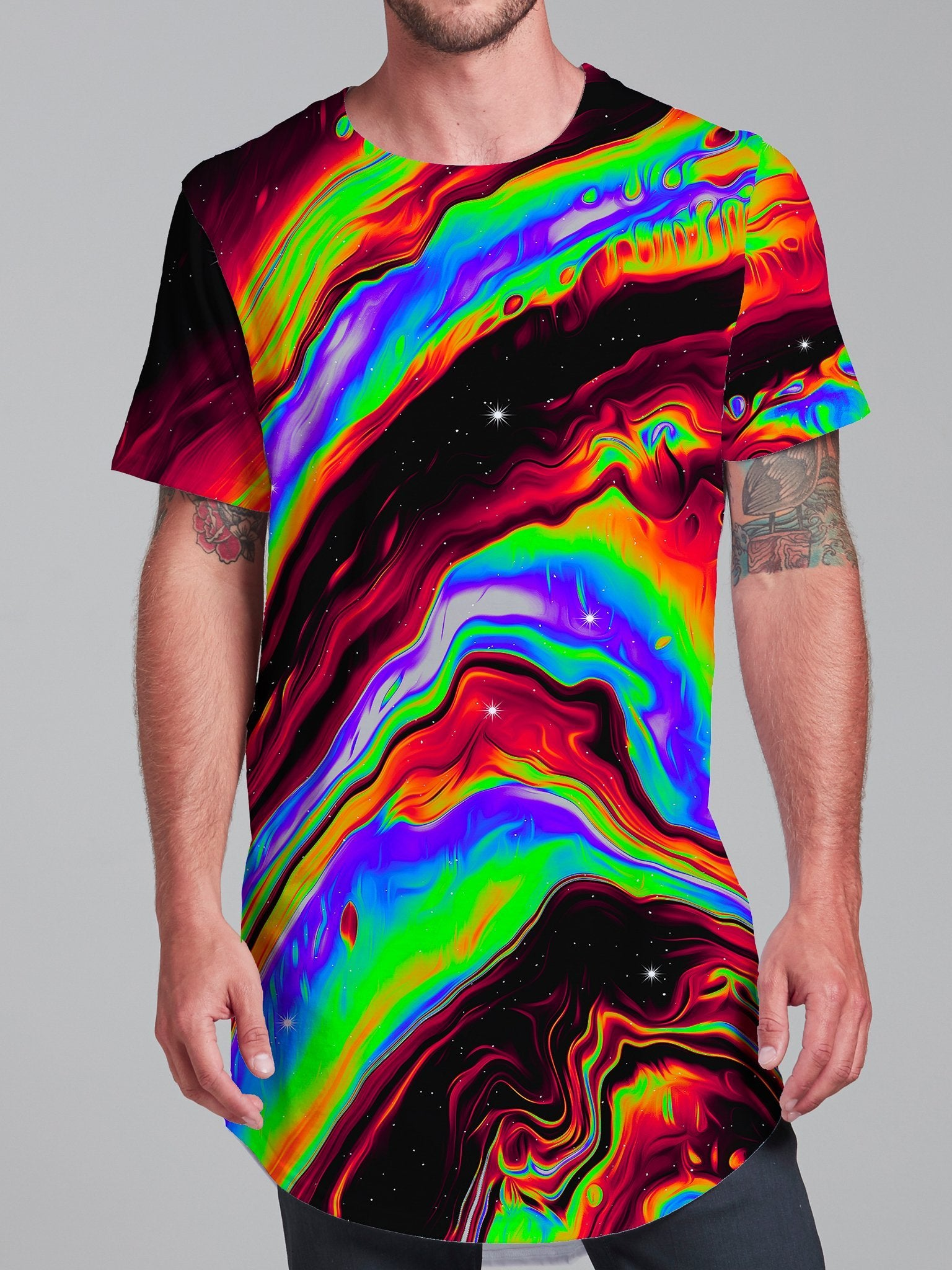 Neon Venus Fly Trap Unisex Tall Tee Mens Tall Tee Electro Threads