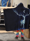 Night Bringer Hooded Blanket Hooded Blanket Electro Threads