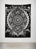 Night Crawler Mandala Tapestry Tapestry Electro Threads
